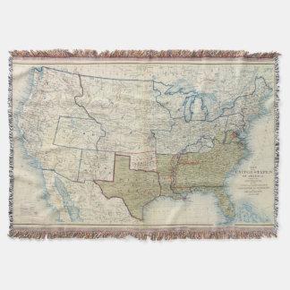 USA June 1861 Throw Blanket