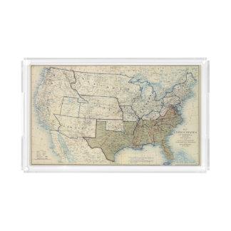USA June 1864 Acrylic Tray