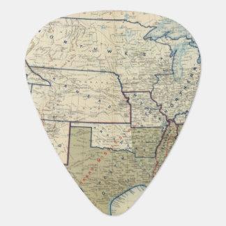USA June 1864 Guitar Pick