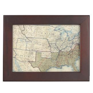 USA June 1864 Keepsake Box