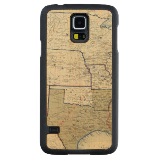 USA June 1864 Maple Galaxy S5 Slim Case
