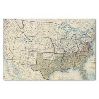 USA June 1864 Tissue Paper