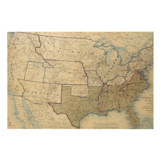 USA June 1864 Wood Canvases