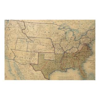 USA June 1864 Wood Wall Art