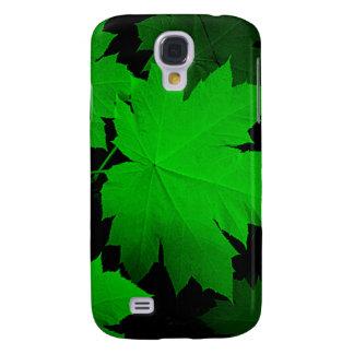 USA, Kansas, Oak Leaves In The Light Galaxy S4 Case