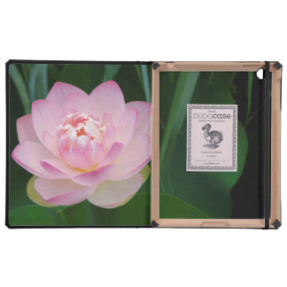 USA, Kansas, Pink Water Lilly iPad Case