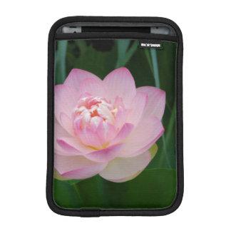 USA, Kansas, Pink Water Lilly iPad Mini Sleeve