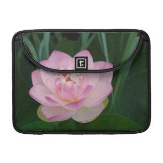 USA, Kansas, Pink Water Lilly MacBook Pro Sleeve