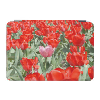 USA, Kansas, Red Tulips With One Pink Tulip iPad Mini Cover