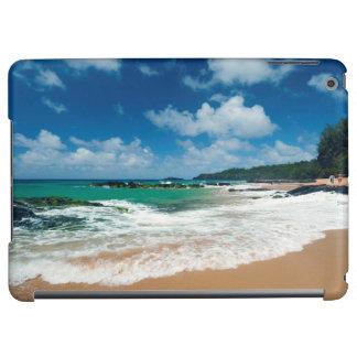 USA, Kauai, Hawaii. A Woman Strolls The Rocks iPad Air Cover