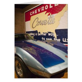 USA, Kentucky, Bowling Green: National Corvette 2 Card