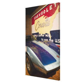 USA, Kentucky, Bowling Green: National Corvette 2 Gallery Wrapped Canvas