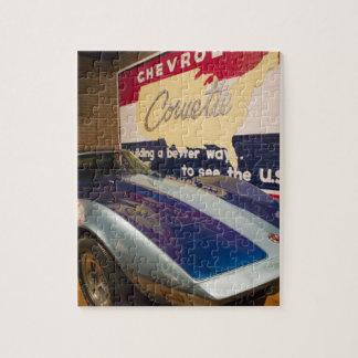 USA, Kentucky, Bowling Green: National Corvette 2 Jigsaw Puzzle