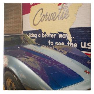 USA, Kentucky, Bowling Green: National Corvette 2 Large Square Tile
