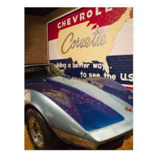 USA, Kentucky, Bowling Green: National Corvette 2 Postcard