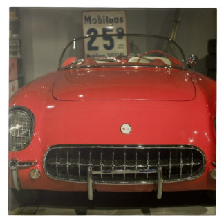 USA, Kentucky, Bowling Green: National Corvette 3 Large Square Tile