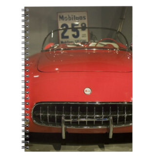 USA, Kentucky, Bowling Green: National Corvette 3 Spiral Notebook