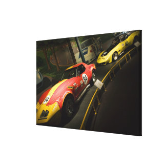 USA, Kentucky, Bowling Green: National Corvette 4 Canvas Print