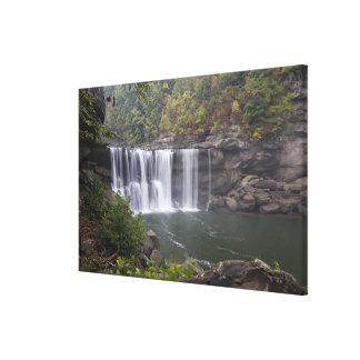 USA - Kentucky. Cumberland Falls on the Canvas Print