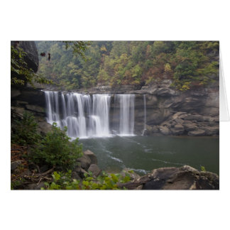 USA - Kentucky. Cumberland Falls on the Card