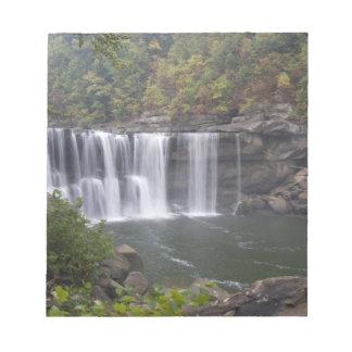 USA - Kentucky. Cumberland Falls on the Notepad