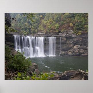 USA - Kentucky. Cumberland Falls on the Poster