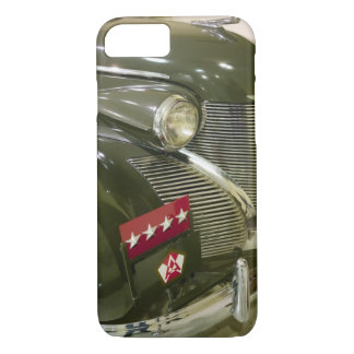 USA, Kentucky, Fort Knox: Patton Museum of iPhone 7 Case