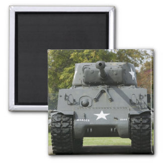 USA, Kentucky, Fort Knox: Patton Museum of Square Magnet