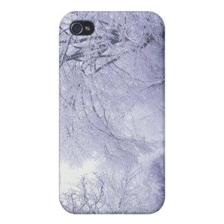 USA, Kentucky, Louisville. Snow ed iPhone 4 Cases