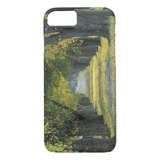 USA, Kentucky, Louisville. Tree-lined road in iPhone 8/7 Case