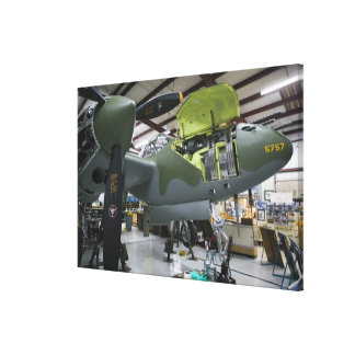 USA, Kentucky, Middlesboro: The Lost Squadron, Stretched Canvas Print