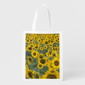 USA, Kentucky Pattern in field of cultivated Reusable Grocery Bag
