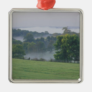 USA, Kentucky. Rolling hills of the Bluegrass Christmas Ornament