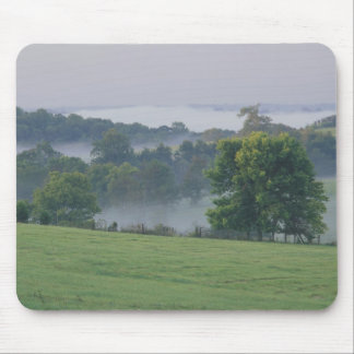 USA, Kentucky. Rolling hills of the Bluegrass Mouse Mat