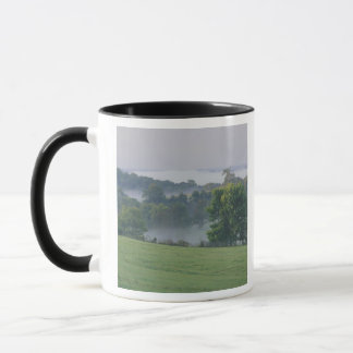 USA, Kentucky. Rolling hills of the Bluegrass Mug