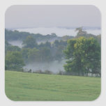 USA, Kentucky. Rolling hills of the Bluegrass Square Sticker