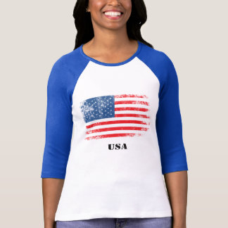 USA Ladies' Raglan T-Shirt