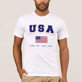 USA - Land of The Free T-Shirt