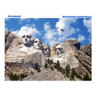 USA Landmark image for postcard