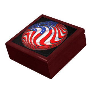 USA LARGE SQUARE GIFT BOX