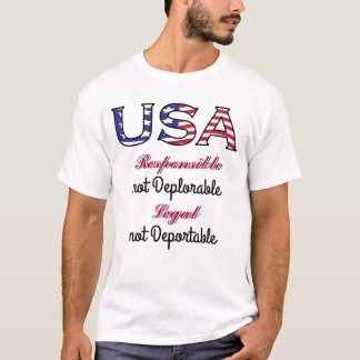 USA Legal Deplorable T-Shirt