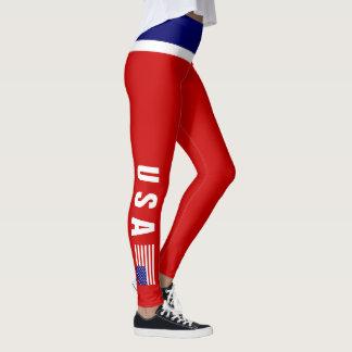 USA Leggings | Mini Flag