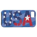 USA Logo, iPhone 5/5S, Vibe, Blue Case For iPhone 5/5S