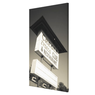 USA, Louisiana, Henderson. Creole Zydeco Music Gallery Wrapped Canvas