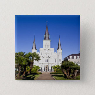 USA, Louisiana, New Orleans. French Quarter, 15 Cm Square Badge