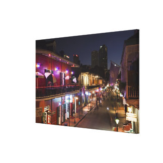 USA, Louisiana, New Orleans. French Quarter, Stretched Canvas Print