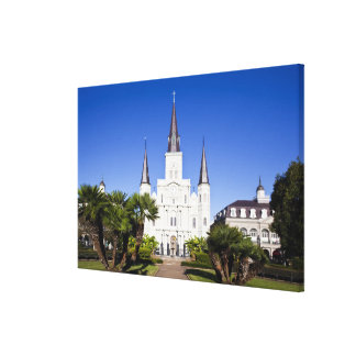 USA, Louisiana, New Orleans. French Quarter, Canvas Print