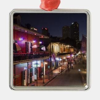 USA, Louisiana, New Orleans. French Quarter, Christmas Ornament