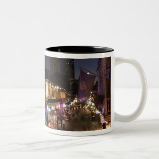USA, Louisiana, New Orleans. French Quarter, Two-Tone Coffee Mug
