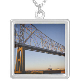 USA, Louisiana, New Orleans. Greater New 2 Silver Plated Necklace